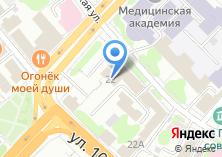 Компания «Евротрейд» на карте