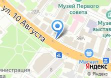 Компания «НИКС» на карте