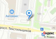 Компания «Автостоянка на ул. Кудряшова» на карте