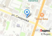 Компания «Магазин строительных и электрических материалов» на карте