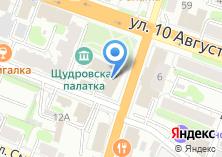 Компания «Финская мебель» на карте