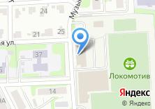 Компания «СДЮШОР №1» на карте