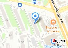 Компания «Квадратный метр» на карте