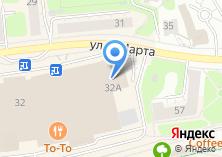 Компания «Мега Travel» на карте