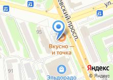 Компания «McDonald`s» на карте