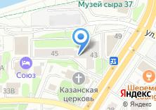 Компания «Студенческий» на карте