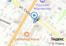 Компания «Гольфстрим» на карте