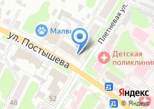 Компания «Астра-1» на карте