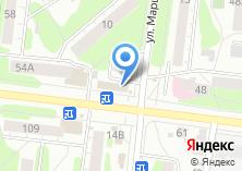 Компания «Винный мир» на карте