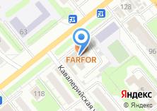 Компания «Простор-текс» на карте