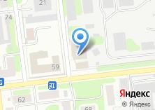 Компания «Ивановоискож» на карте