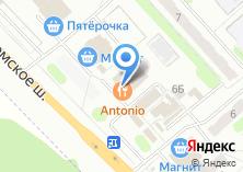 Компания «Antonio» на карте