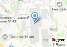 Компания «Матекс» на карте