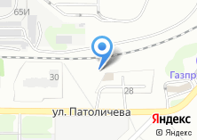 Компания «Автомойка на Патоличева» на карте
