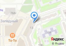 Компания «Городская библиотека №7 им. К. Симонова» на карте