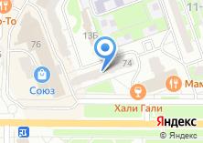 Компания «Этажи» на карте