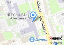 Компания «Дзержинский политехнический институт» на карте