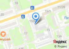 Компания «Дзержинская типография» на карте
