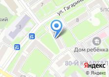 Компания «Электра-Д» на карте