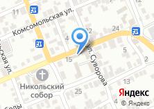 Компания «В городе» на карте