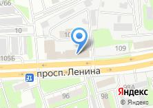 Компания «Нижегородоблгаз» на карте