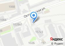 Компания «ОксиГазСервис» на карте