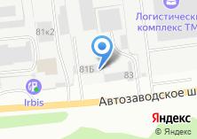 Компания «КОВОФИНИШ» на карте