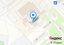 Компания «Пензапринт» на карте