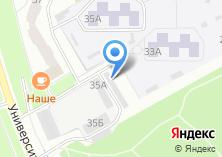 Компания «Форест Мебель» на карте
