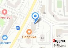 Компания «Оконика» на карте