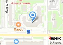 Компания «Клубничка» на карте