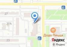Компания «Салон-парикмахерская блик» на карте
