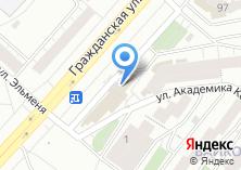 Компания «Хмельная» на карте
