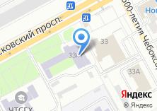 Компания «Чебоксарское музыкальное училище им. Ф.П. Павлова» на карте