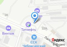Компания «АЗС Tatneft» на карте