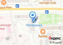 Компания «Банкомат Автовазбанк» на карте