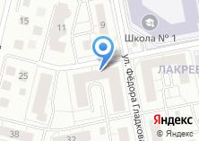 Компания «Участковый пункт полиции №6» на карте