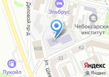 Компания «Чебоксарский институт экономики и менеджмента» на карте