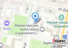 Компания «Государственная ветеринарная служба Чувашской Республики» на карте