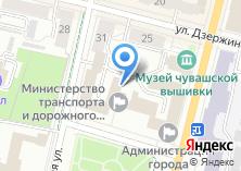 Компания «Общественная палата Чувашской Республики» на карте