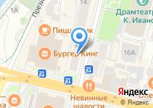 Компания «Массажофф» на карте