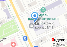 Компания «Электро-Универсал» на карте