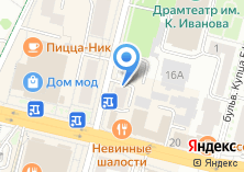 Компания «Инвесткапитал» на карте