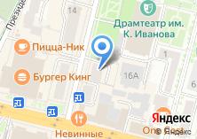 Компания «Творческий город» на карте