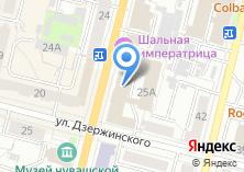 Компания «Национальный банк Чувашской Республики» на карте