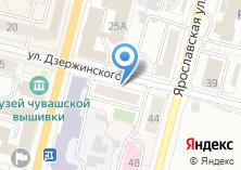 Компания «Чебоксарское городское агентство недвижимости» на карте