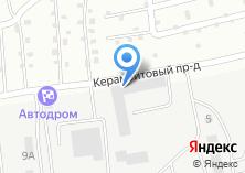 Компания «ИВМА» на карте