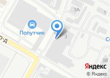 Компания «Техноснаб» на карте
