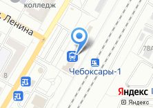 Компания «Сервис-Центр Чебоксары» на карте