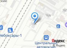 Компания «Чебоксарытоннельстрой» на карте